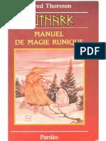 Futhark Manuel de Magie Runique