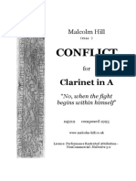 Malcolm Hill - Conflict for A Clarinet.pdf