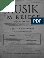 Gerigk, Herbert - Musik im Kriege