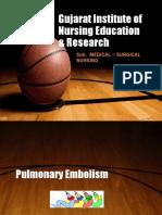 B.SC Pulmonary embolism.pptx