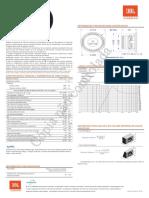 JBL 12MB7.8 28025047 Manual Portuguese