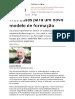 artigo NOVOA 2016__tres-bases-para-um-novo-modelo-de-formacaopdf