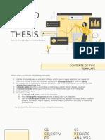 Economics Thesis by Slidesgo