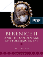 (Women in Antiquity) Dee L. Clayman - Berenice II and the Golden Age of Ptolemaic Egypt-Oxford University Press, USA (2013).pdf