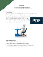 ACTIVIDAD 4, ESTUDIO DE SOLUCIONES