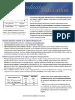 SD Mines Graduate Education application instructions