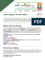 Turkish Language - Basic Suffixes.pdf