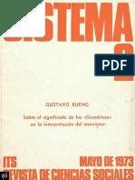 Sobre el significado de los «Grundrisse» - Gustavo Bueno