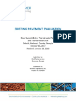 Existing Pavement Evaluation Report Revised 012318