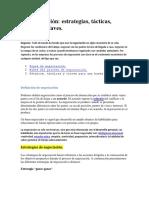 La negociación estrategias-tácticas-técnicas y claves