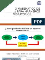 Modelo matematico para harneros vibratorios
