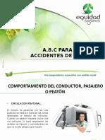 ABC PREVENCIÓN DE ACCIDENTES DE TRANSITO..pptx