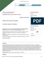 Sistema de salud de Colombia