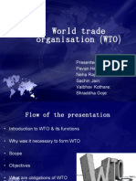 World Trade ion (WTO)