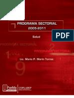 PROGRAMA SECTORIAL SALUD