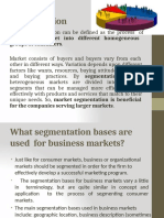 B2B market segmentation