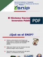 SNIP-Identificación RRSS-2007-Diplomado Piura