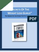 Secrets of the Weight Loss Gurus