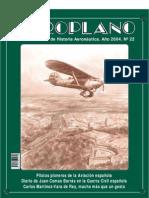 Revista Aeroplano número 22 del año 2004
