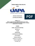 contabilidad gerecial tarea 3 y 4