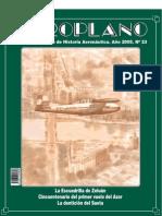Revista Aeroplano número 23 del año 2005
