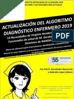 ACTUALIZACION ALGORITMO DIAGNOSTICO ENFERMERO 2019 CON EDICION 2018-2020