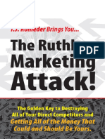 The Ruthless Marketing Atttack