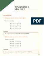 3_Multiplicação e Divisão em  Z