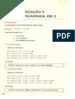 4_Potenciação  e raiz quadrada em  Z