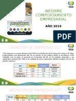 Comportamiento Empresarial CCT Dic 2019