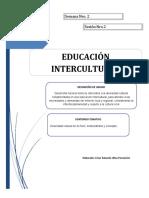 MODULO 2 - EDUCACIÓN INTERCULTURAL