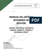 MNSIG-01  MANUAL SISTEMA INTEGRADO DE GESTION (1)