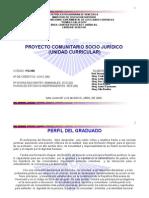 Proyecto Comunitario Socio Jurídico
