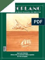 Revista Aeroplano número 26 del año 2008