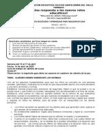 Guía de trabajo catedra de la paz 6ºAyB