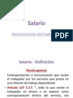 9. Presentación Salario
