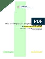 Protocolos e plano de contingência ANVISA