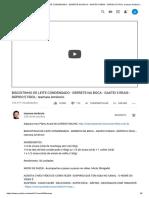 BISCOITINHO DE LEITE CONDENSADO - SEM GEMA DE OVO - Isamara Amâncio