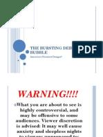 The Bursting Debt Bubble by A True Ott PhD