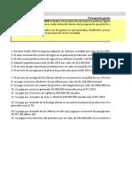 PARCIAL 2 PRESUPUESTO DE GASTOS NO OPERACIONALES
