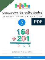 ACTIVIDADES MATEMÁTICAS 5