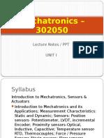 Mechatronics (2015) Unit I.pptx