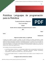 Encuentra aquí información de Robótica_