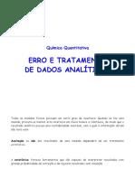 Química Analítica quantitativa - tratamento de erros.pdf