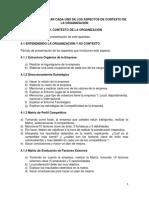 Guía de Contexto de la Organización