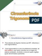 Trigonometria 3 - Circunferência Trigonométrica