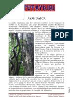 Ayahuasca, Experiencias