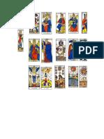 cartas de tarot miniatura