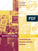 [Social Movements, Protest, and Contention 14] Sanjeev Khagram, James V. Riker, Kathryn Sikkink - Restructuring World Politics_ Transnational Social Movements, Networks, and Norms (2002, University of Minnesota Pr.pdf