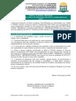 Edital Prograd nº 44 2020 - Prograd - Classificação Geral PSC 2020_1
